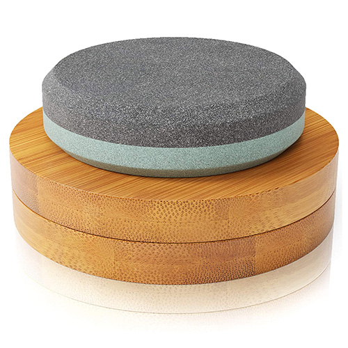 Sharp Pebble Puck Axe Sharpening Stone